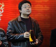 百度研发框计算 百度市场与公关高级总监朱光领奖