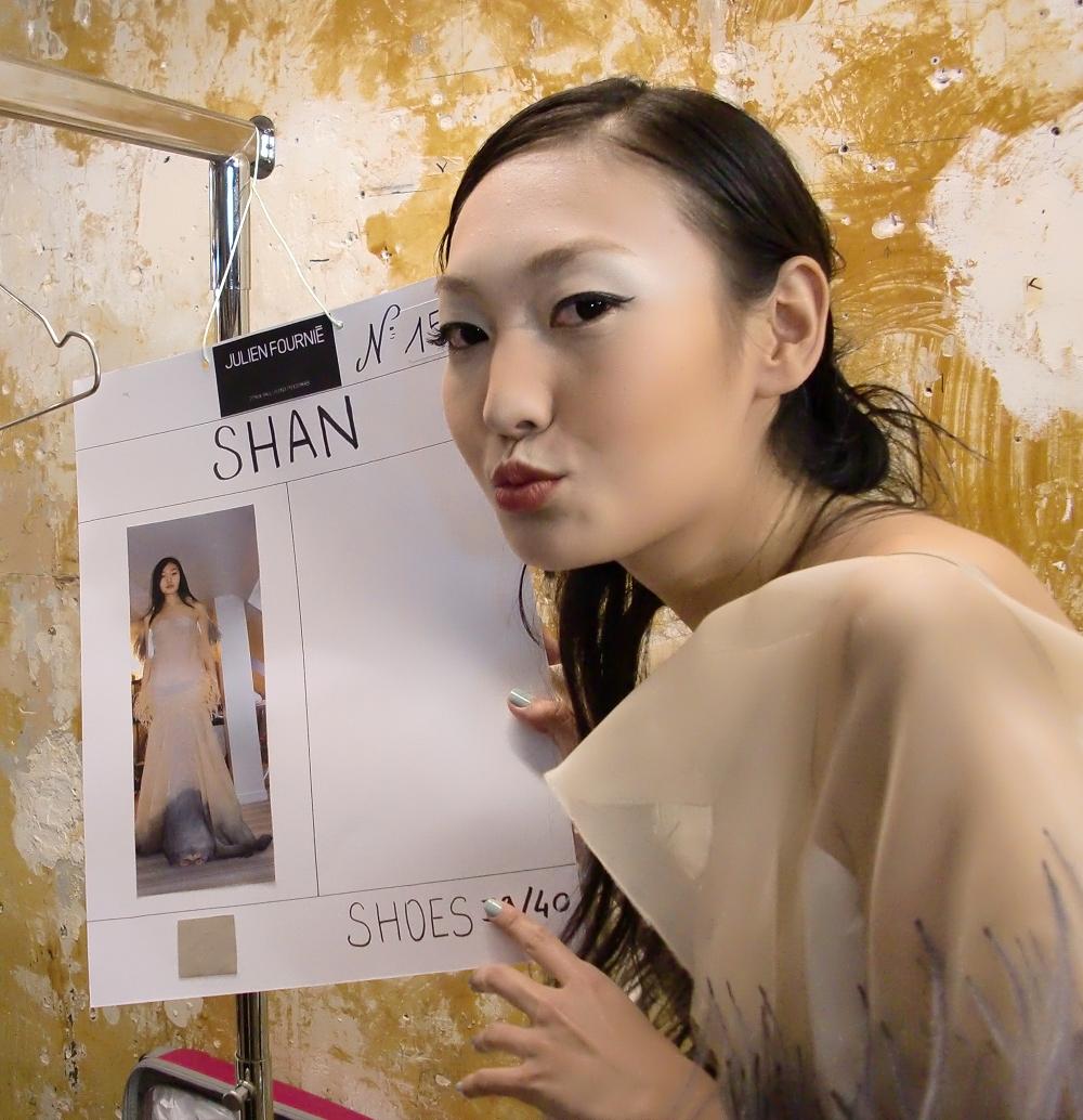 单静雅:2009年夺得中国最佳女模特称号