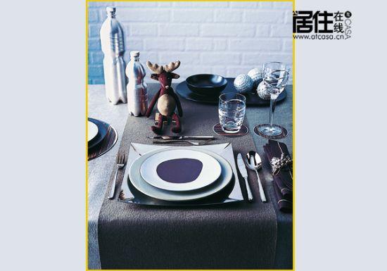 春节家宴中西合璧餐具搭配