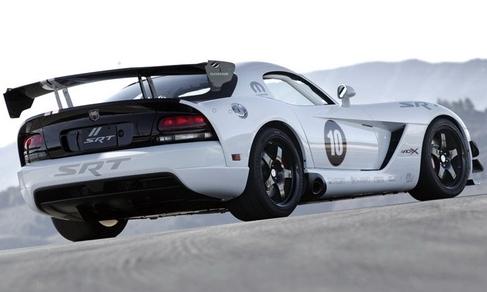 道奇蝰蛇ACR-X背面