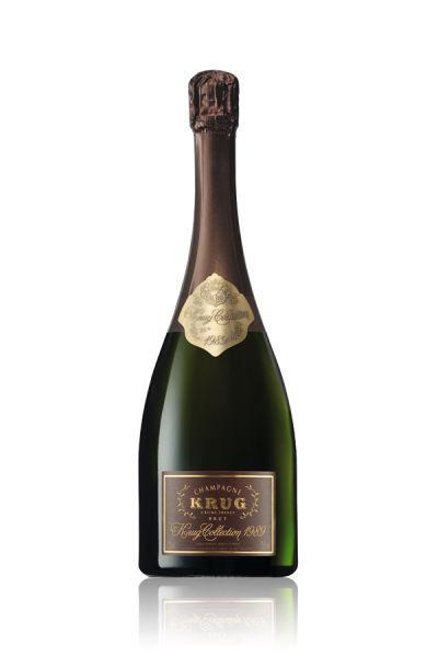 库克收藏家年份香槟1989