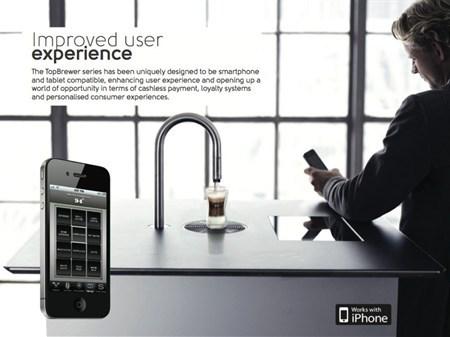 可用Iphone遥控的咖啡机