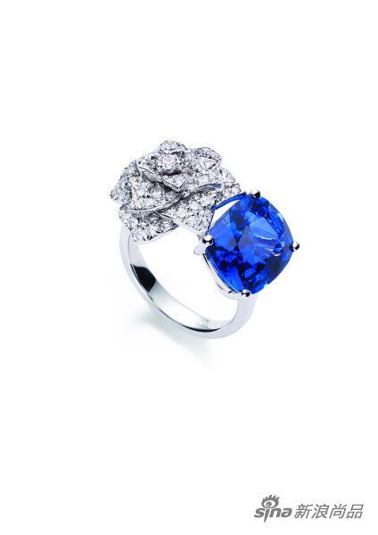 Limelight Garden Party 蓝宝石钻石指环