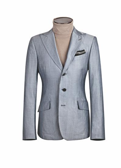 西装搭配高领毛衫-西装的3种时尚搭法