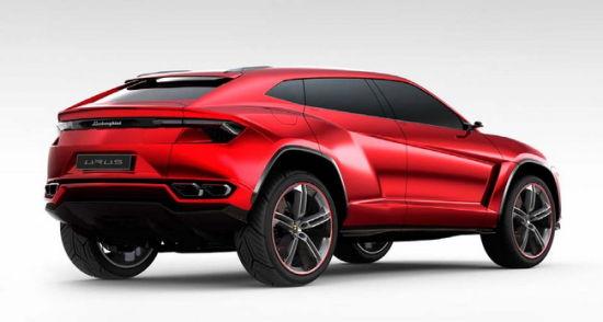 Urus是兰博基尼最新的赛车型SUV