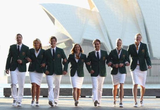 新晋设计师Daniel Bracken设计澳大利亚队服