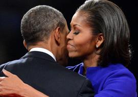 米歇尔力挺老公 含泪讲述奥巴马成长史