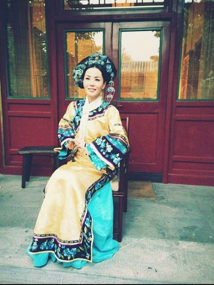 清宫皇妃手绘图片