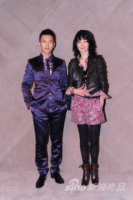 Huang Xaio Ming & Maggie Cheung at the Burberry event in Pacific Place Hong Kong