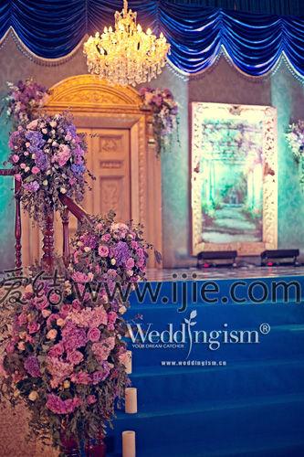 庄园旧梦主题婚礼 欧式复古风的庄园重现图片