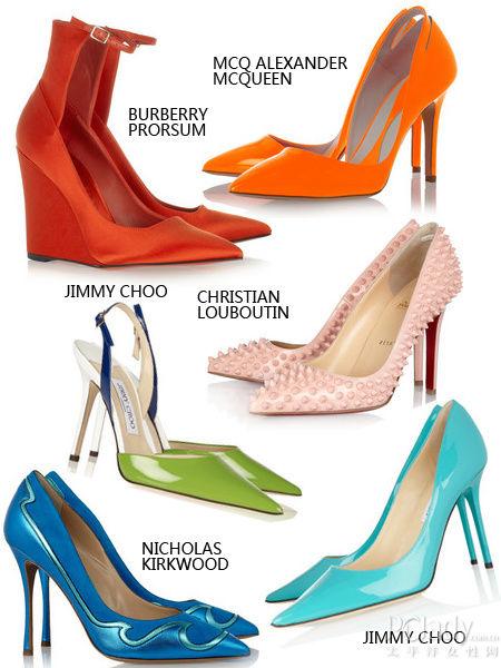 尖头鞋单品推荐