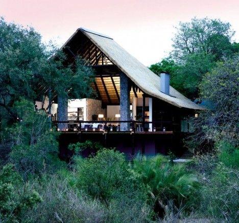 动物保护区(londolozi private game reserve)生态旅游营地位于南非萨