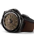 万国工程师暗哑黑自动陶瓷腕表