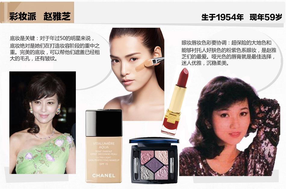 学赵雅芝减龄彩妆术 10分钟年轻20岁