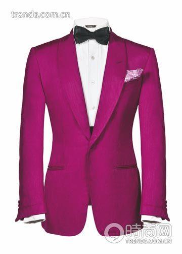 礼服、口袋巾、腰封Tom Ford 衬衫 Ports 1961 领结 Alfred Dunhill