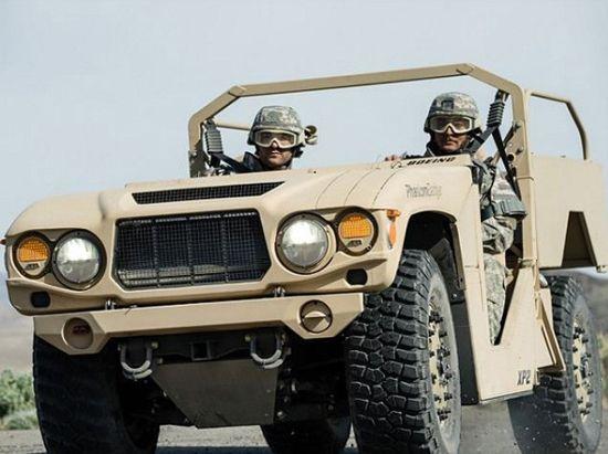 波音公司Phantom Badger的轻型战车