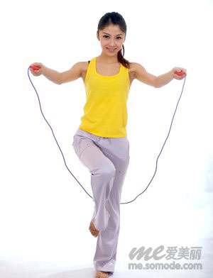 跳绳,瘦腿,方法,