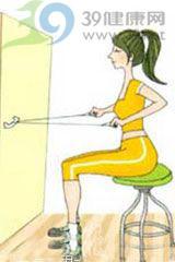 背部挺拔小运动 让你体态更优美