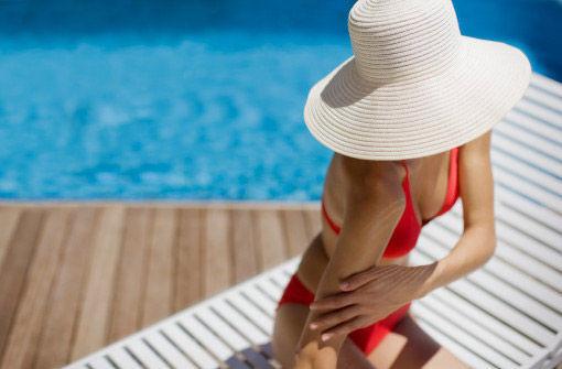 海边防晒需要高倍防晒品,防水功效必不可少