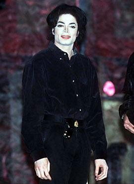 1995年36岁的迈克尔 杰克逊