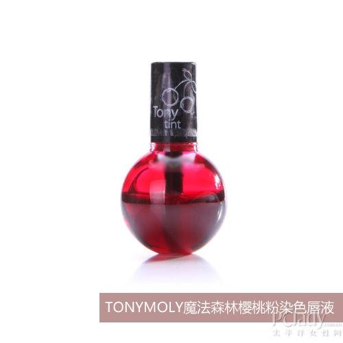 TONYMOLY魔法森林樱桃粉染色唇液