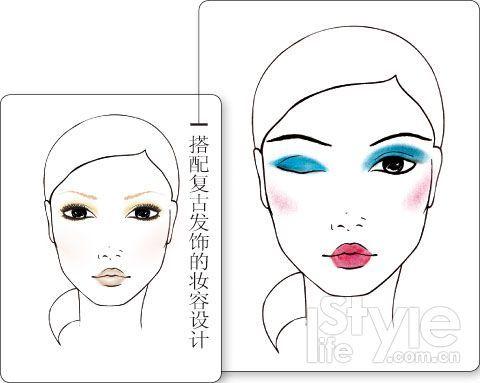 妆容手绘本