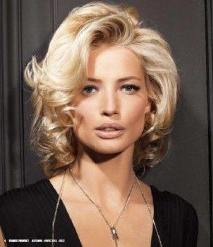 欧式短发女造型图片