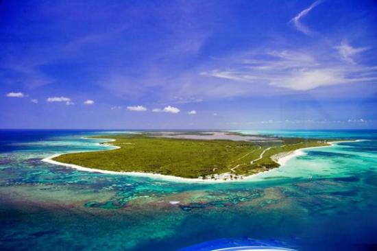 偶遇加勒比海神秘岛屿