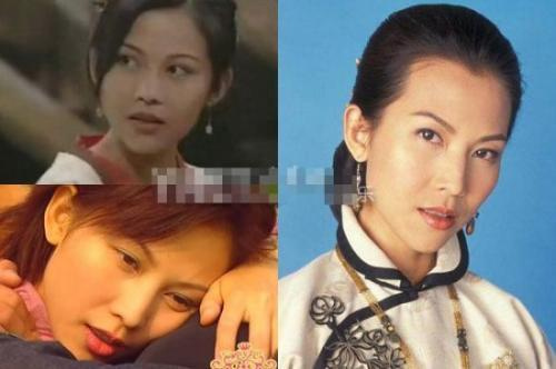 Actor actress Yang Mi Lu Lu Raymond before and after plastic surgery cf
