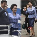 彭丽媛出访大爱中国风
