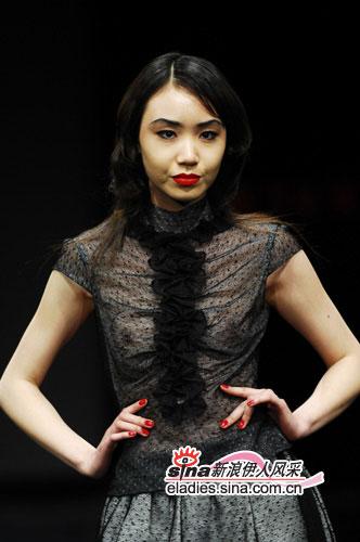 中国时装周,这个模特叫什么名字?