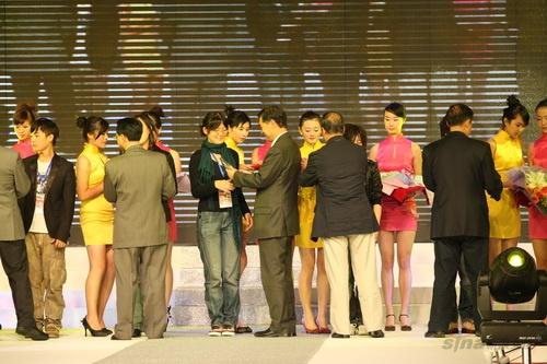 组图:中国国际服装设计大赛优胜奖,单项奖-选手颁奖