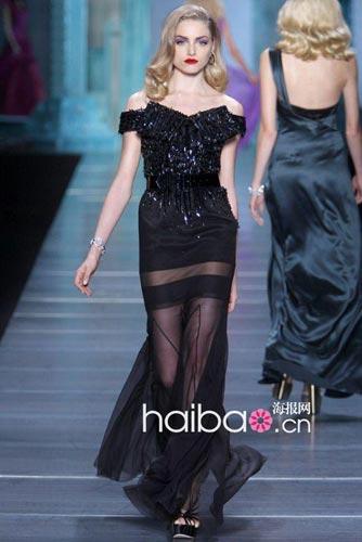 迪奥 (Dior) 2010春装秀场;模特:Emma Maclaren-舒淇钟爱Elie 图片