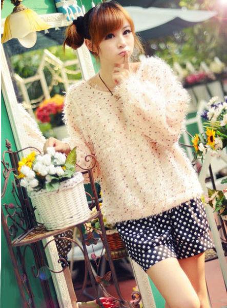 10款秋季甜美女装针织衫必备 宅女变潮女(图1)