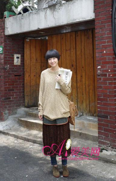 毛衣类型:轻薄款长版毛衣