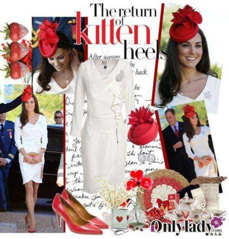 白色REISS修身连衣裙