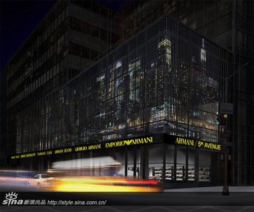 阿玛尼纽约概念店或将成为高档时装零售范本
