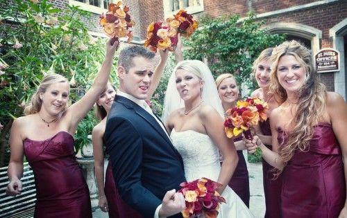国人婚宴现场的唯美婚纱照