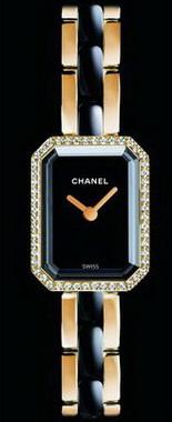 香奈儿(Chanel)Premiere 黄K金搭配高科技精密陶瓷版腕表