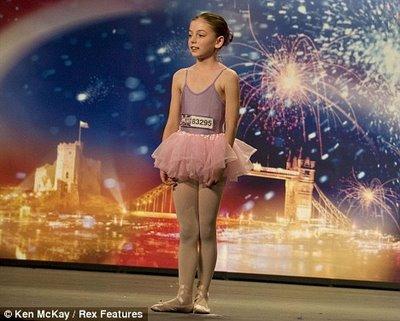 10岁芭蕾娃娃成苏珊大妈劲敌