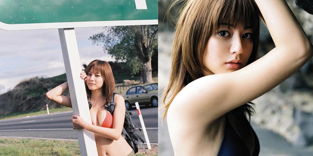 日本氧气美女杉本有美夏日性感历险 甜美动人