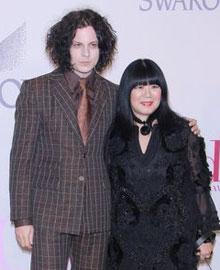 安娜苏(Anna Sui)与摇滚歌星Jack White