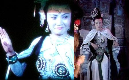 西游记里的美女妖精靠了美色来迷唐僧