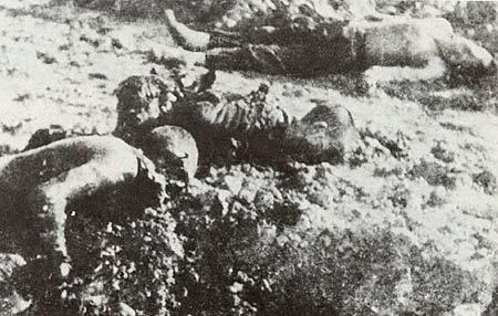 图文:惨遭日军集体杀害的南京青年