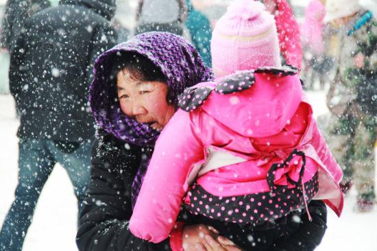 徐文波作品《风雪人生》