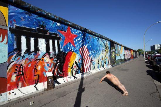 《景・观》柏林墙 作品4号