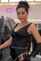 起亚展台13号模特