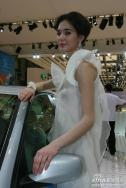萨博展台1号模特