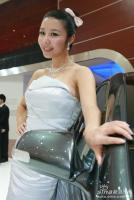 广汽展台9号模特