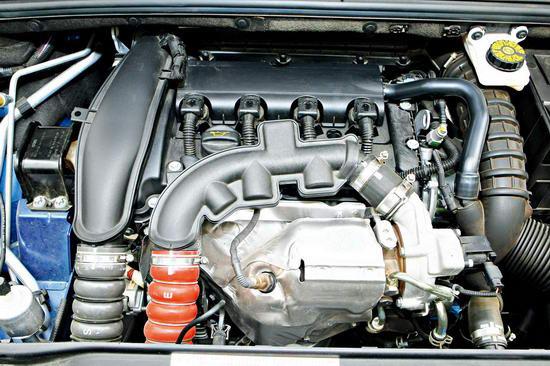 1.6L涡轮增压发动机的动力再次得到充分肯定